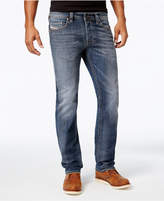 Diesel Men's Safado 0885K Straight Fit Stretch Jeans