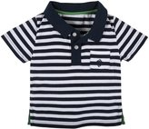 "Andy & Evan Nick-Nack"" Striped Polo (Toddler/Kid) - Navy-7Y"