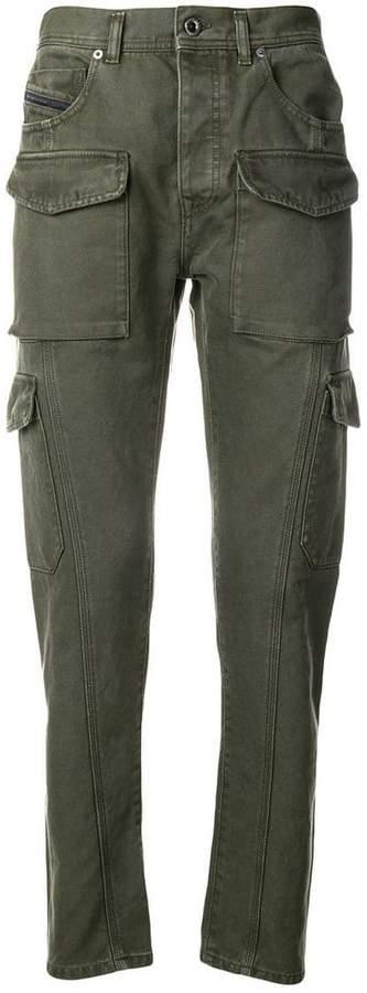 Diesel Black Gold skinny cargo trousers