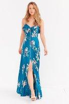 Kimchi & Blue Kimchi Blue La Playa Button-Down Maxi Dress