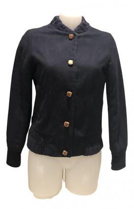 Sessun Blue Wool Jackets