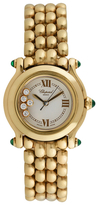 Chopard Vintage Happy Sport 18K Yellow Gold & Diamond Watch, 26mm