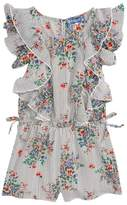 Truly Me Floral Ruffle Romper