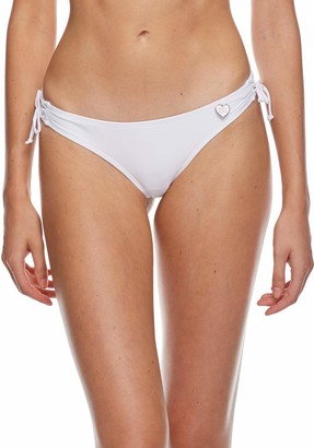 Body Glove Women's Smoothies Isla Solid Cheeky Coverage Bikini Bottom Swimsuit