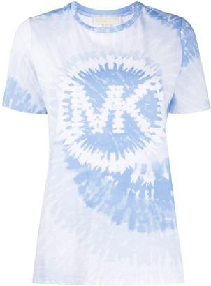MICHAEL Michael Kors tie-dye logo print T-shirt