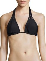 Mikoh Swimwear Waipahu Full Coverage Triangle Bikini Top