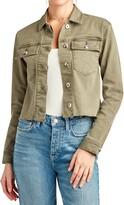 Sam Edelman The Aimmie Cotton Blend Utility Jacket