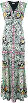 Etro printed maxi dress - women - Viscose/Acetate/Polyamide - 42