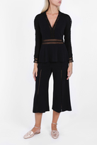 Jonathan Simkhai Coiled Trim Blouse