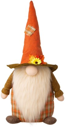 Glitzhome Lovely Fabric Patriotic Gnome Holiday Decor