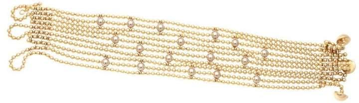 Cartier Draperie de Decollete 18K Yellow Gold & Diamond Bracelet