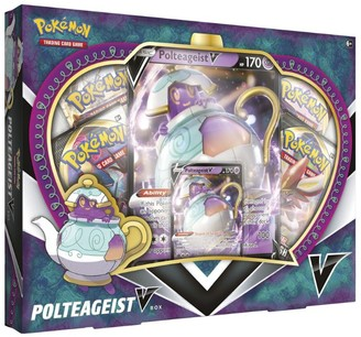 Pokemon Polteageist V Box Trading Card Game