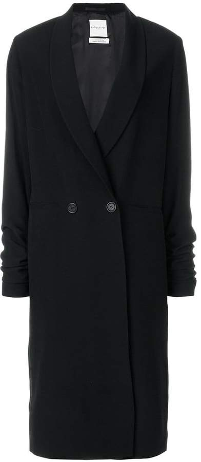 Each X Other long double-breasts coat