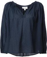 Nili Lotan embroidered st. tropez blouse