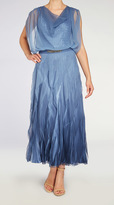 Komarov Long Belted Dress