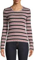 Madewell Striped Long-Sleeve Top