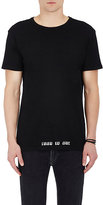 RtA Men's Skeleton-Print Cotton T-Shirt-BLACK