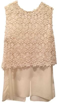 Elie Tahari Ecru Silk Top for Women