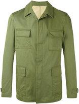 Lardini lightweight jacket - men - Cotton/Spandex/Elastane/Viscose/Cupro - 48