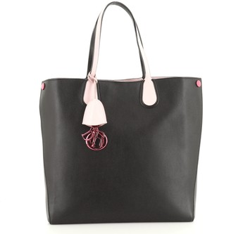 Christian Dior Addict Shopping Tote Leather Vertical