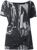 Ann Demeulemeester 'Lucian' T-shirt - women - Cotton - 36