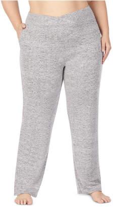 Cuddl Duds Women Plus Size Soft Knit Lounge Pants