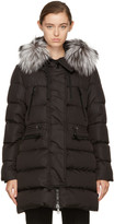 Moncler Black Down Aphrotiti Jacket