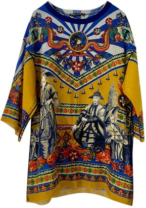 Dolce & Gabbana Multicolour Linen Shirts