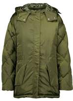 Sandro Starman Satin-Shell Hooded Jacket
