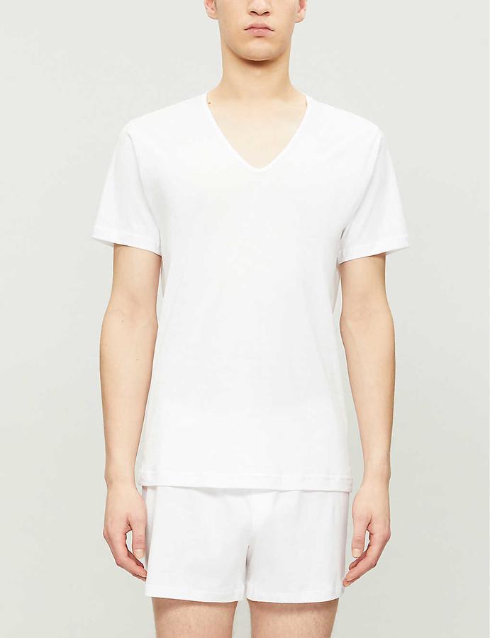 Sunspel Superfine Egyptian cotton T-shirt