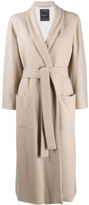 Canessa Longline Wrap Coat
