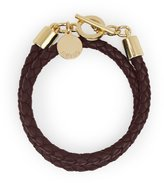 Reiss Toucan - Leather And Metal Bracelet in Red, Womens