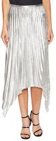 Emilio Pucci Silk Pleated Asymmetrical Skirt