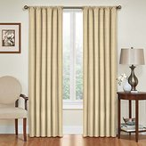 Eclipse Curtains Eclipse Kendall Blackout Thermal Curtain Panel,Café,63-Inch