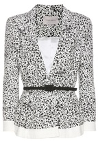 Carolina Herrera Printed cotton blazer