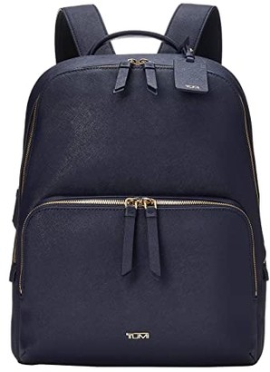 Tumi Varek Hudson Backpack (Navy) Backpack Bags