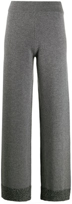 Canessa Knitted Wide-Leg Trousers
