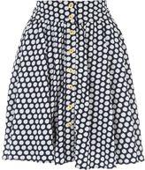 Jane Norman Spot Button Mini Skirt