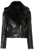 Rebecca Vallance The Wolfe biker jacket - women - Leather/Sheep Skin/Shearling - 10