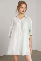 J.ING Anna Creamy Mint Shirt Dress