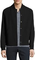 Theory Furg SN Kingward Varsity Jacket, Black