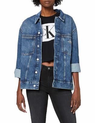 Calvin Klein Jeans Women's Iconic Oversized Trucker Jacket