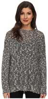 Karen Kane Sequin Open Knit Sweater