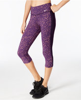 Nike Dry Legend Cotton-Blend Printed Training Capri Leggings