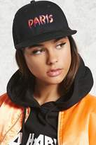 Forever 21 Paris It's Lit Graphic Snapback