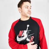 Nike Men's Jordan Mashup Jumpman Classics HBR Fleece Crewneck Sweatshirt