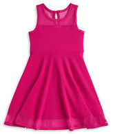 Iris & Ivy Girls 7-16 Girls Sleeveless Knit Fit-and-Flare Dress