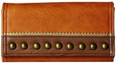American West Oak Creek Flap Wallet Wallet Handbags