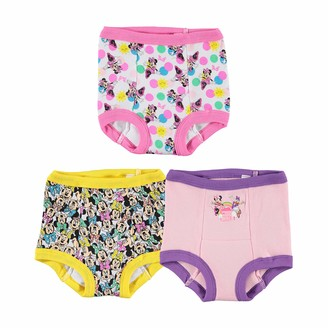 Disney Girls' 3pk Minnie Mouse Multi-Pack Potty Training Pant