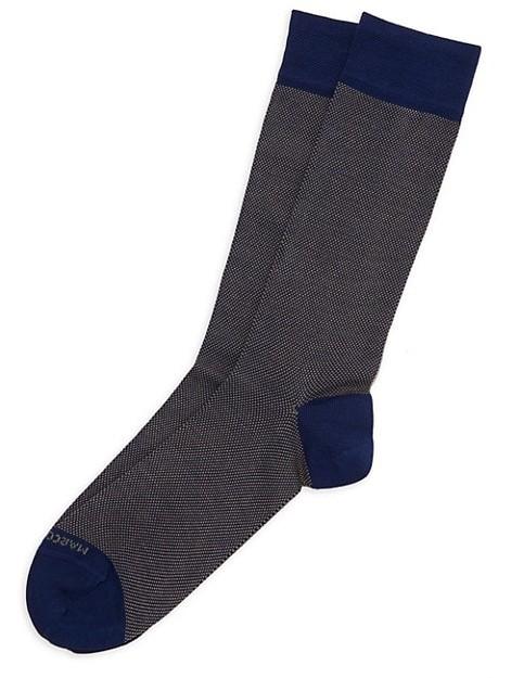 Marcoliani Milano Cotton-Blend Dress Socks